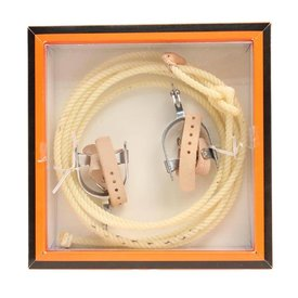 M&F Little Outlaw Rope and Spur Set 50540