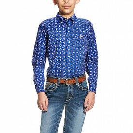 Ariat Boy's Ariat Benchley Button Down Shirt 10020958