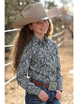 Cruel Girl Girl's Cruel Girl Snap Front Shirt CTW3230005