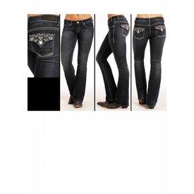 ROCK&ROLL DENIM Women's Rock & Roll Cowgirl Rival Jean W6-4586