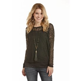 Rock and Roll Cowgirl Women's Rock & Roll Cowgirl Blouse 48T4709