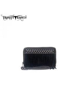 Trinity Ranch Trinity Ranch Fringe Wallet TR09-W003 BK