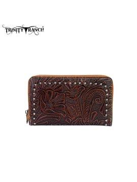 Trinity Ranch Trinity Ranch Tooled Wallet TR22-W003 CF
