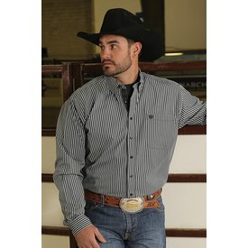 Cinch Men's Stripe Button Down Shirt