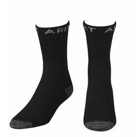 Ariat Men's Black Work Boot Socks