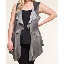 Vocal Women's Vocal Vest IM0816VX (Plus Sizes)