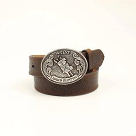 Ariat Boy's Bull Rider Buckle Belt
