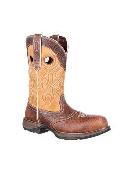 Durango Men's Durango Rebel Composite Toe Waterproof Saddle Western Boot DDB0123 C3