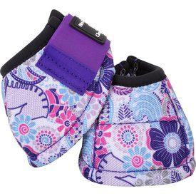 Classic Equine CLASSIC EQUINE DYNO DESIGNER PURPLE POSEY BELL BOOTS