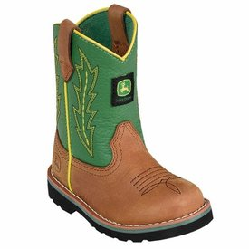 John Deere Toddler's John Deere Johnny Popper Boot JD1186 C4