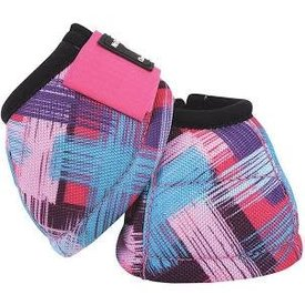 Classic Equine CLASSIC EQUINE DYNO DESIGNER PINK SWEEP BELL BOOTS
