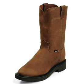 Justin Women's Distressed Leather Conductor Boot C4