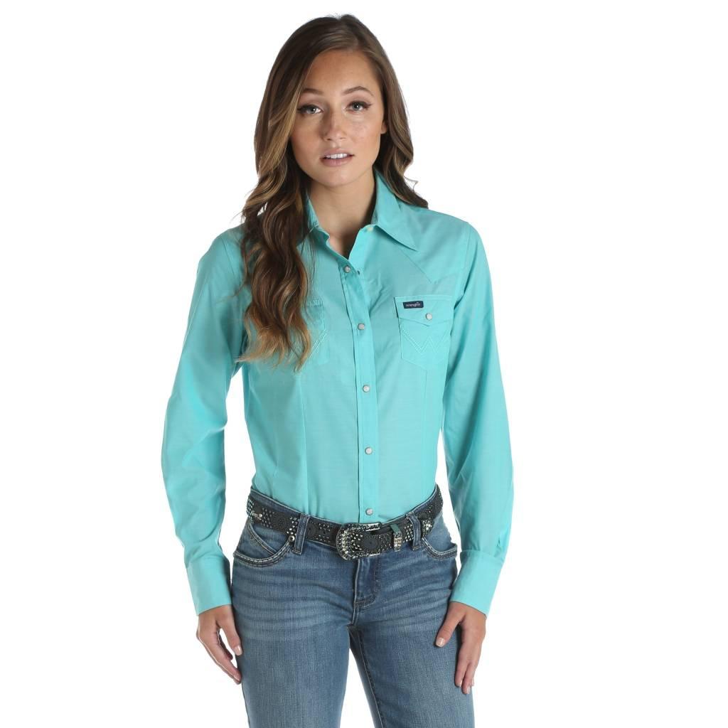 a3570532 Women's Wrangler Snap Front Shirt LW6591G