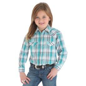 Wrangler Girl's Wrangler Snap Front Shirt GW3091M
