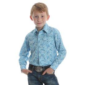 Wrangler Boy's Wrangler 20X Snap Front Shirt BJC133M