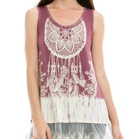 Vocal Women's Vocal Sleeveless Tunic 14597T C4