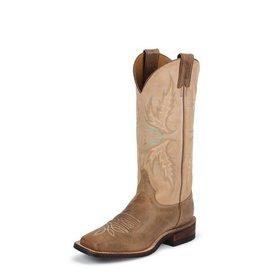 Justin Women's Mocha Uvalde Boot