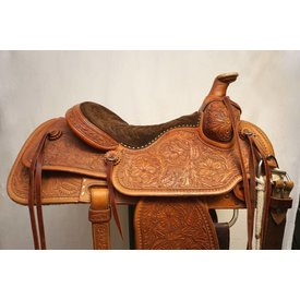 Jerry Hutcherson Used Full Tooled Roper