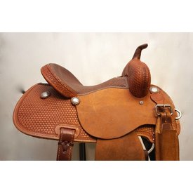 Rocking T Saddlery Rocking T Barrel Racing Saddle