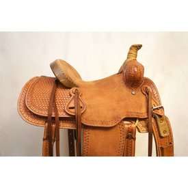 Chino Tack Chino Tooled Cheyenne Youth Ranch Saddle
