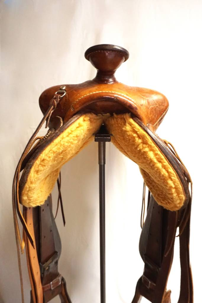 Saddle King Of Texas Full Tooled Pleasure Corral Western Wear