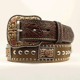 Ariat Men's Nailhead/Concho Belt