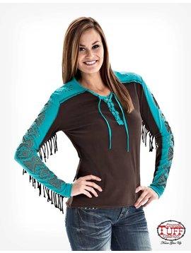 Cowgirl Tuff Women's Cowgirl Tuff T-Shirt F00289