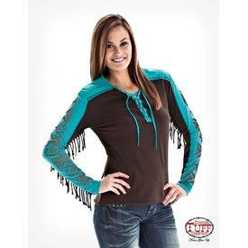 Cowgirl Tuff Women's Cowgirl Tuff T-Shirt F00289 C4