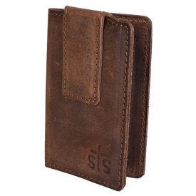 Stran Smith Men's STS Ranchwear Foreman Leather Money Clip STS61035