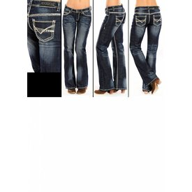 Rock and Roll Cowgirl Women's Rock & Roll Cowgirl Riding Jean W7-9516