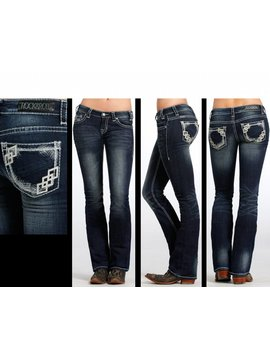 Rock and Roll Cowgirl Women's Rock & Roll Cowgirl Rival Jean  W6-6422