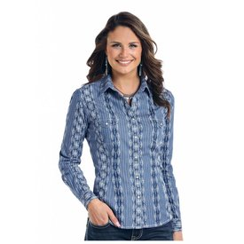 Panhandle Women's Rough Stock Snap Front Shirt R4S7606
