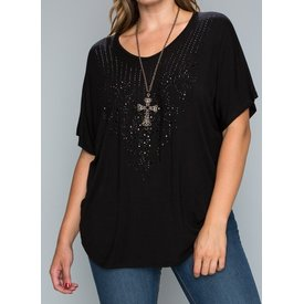 Vocal Women's Vocal Blouse 16495SX (Plus Size)