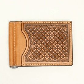 Nocona Belt Co. Men's Nocona Bi-Fold Money Clip N5412748