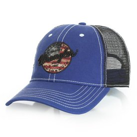 Wrangler Blue American Flag Patch Kids Cap
