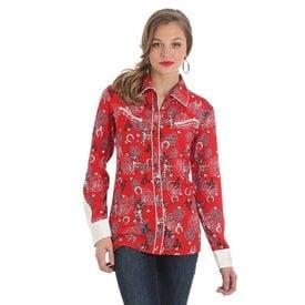 Wrangler Women's Wrangler Snap Front Shirt LWQ833M