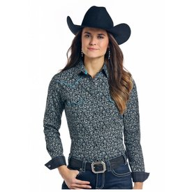 Panhandle Women's Rough Stock Snap Front Shirt R4S7598 C4