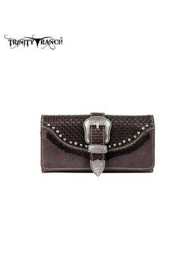 Montana West Women's Trinity Ranch Buckle Wallet TR31-W002 CF