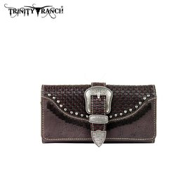 Montana West Women's Trinity Ranch Buckle Wallet TR31-W002 CF