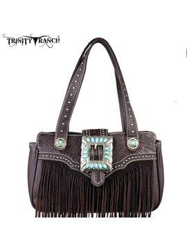 Montana West Women's Trinity Ranch Fringe Handbag TR30-8247 CF