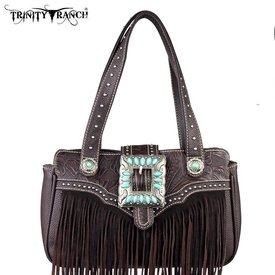 Montana West Women's Trinity Ranch Fringe Handbag