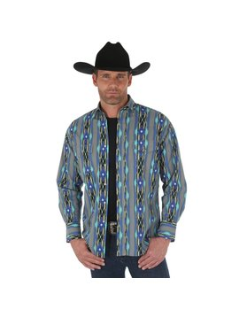 Wrangler Men's Wrangler Checotah Snap Front Shirt MC1237M