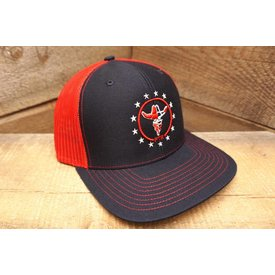 Prime Time Rodeo PRIME TIME RODEO NAVY/RED MESH STAR SPANGLE