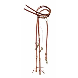 Berlin Custom Leather German Martingale w/Split Reins