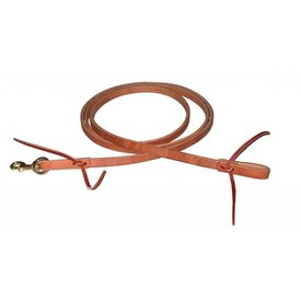 "Berlin Custom Leather LTD 3/4"" x 8"" Flat Roper Reins"
