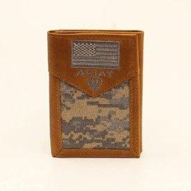 Ariat Men's Ariat Tri-Fold Wallet A3536628