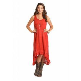 Rock and Roll Cowgirl Women's Orange Dress