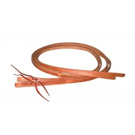 "Berlin Custom Leather Waterloop Split Reins 1"" x 8''"