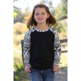 Cruel Girl Girl's Cruel Raglan  Sweatshirt CWK8020001