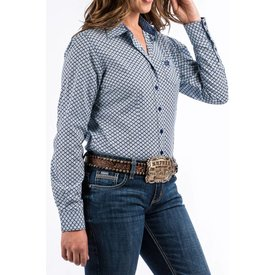 Cruel Girl Women's Cinch Button Down Shirt MSW9164078